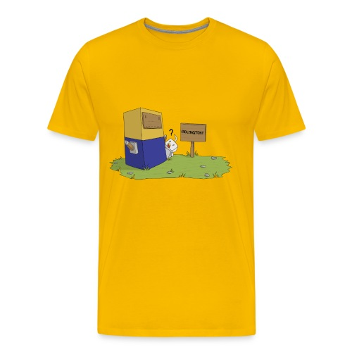 Mini Minion by Seiaeka - Men's Premium T-Shirt