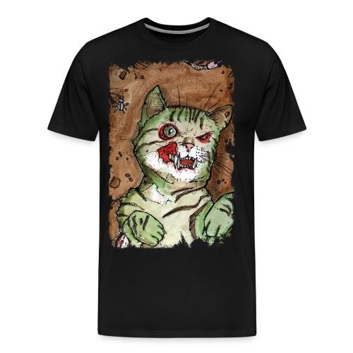 zombie kitten 1 - Men's Premium T-Shirt
