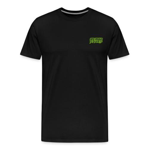 Extreme Dirt Bike Stunt T-Shirts - Men's Premium T-Shirt