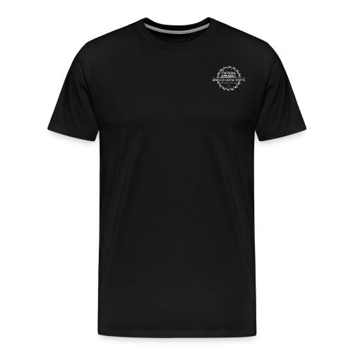 Springer House Events Logo white - Men's Premium T-Shirt