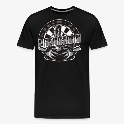 Predatory Darts Shirt - Men's Premium T-Shirt