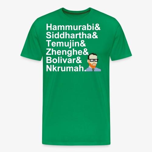 & AP World History Shirt - Men's Premium T-Shirt