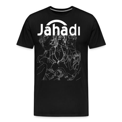 HADIBITCHESWHITE - Men's Premium T-Shirt