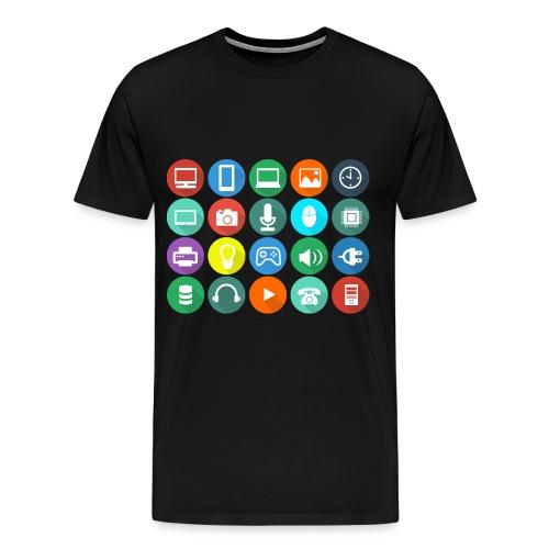 21st century Heiroglyphs - Men's Premium T-Shirt