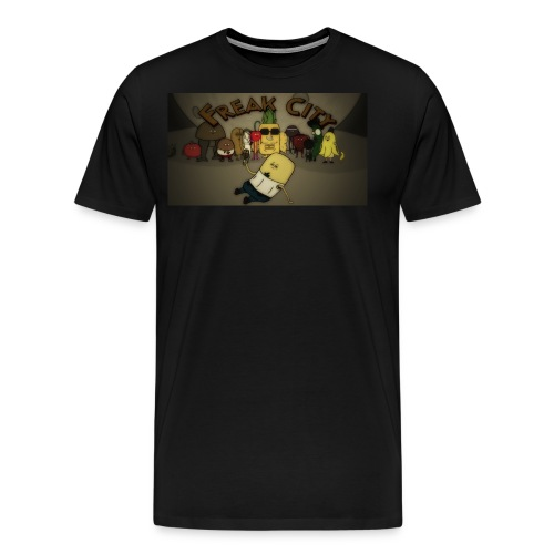 Freak City Characters - Men's Premium T-Shirt