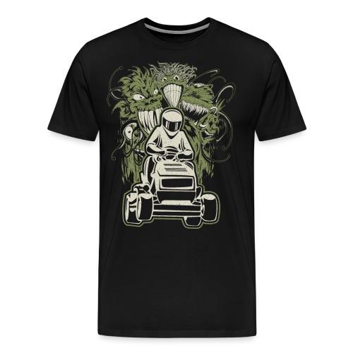 Lawn Mower Demons - Men's Premium T-Shirt