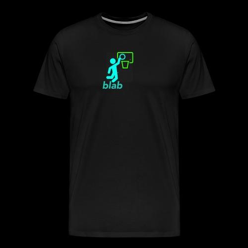 blab - Men's Premium T-Shirt