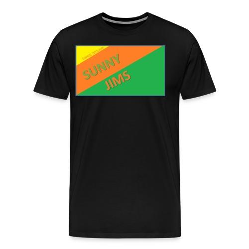 Sunny Jims YouTube Shirt Hoodie (Official) - Men's Premium T-Shirt