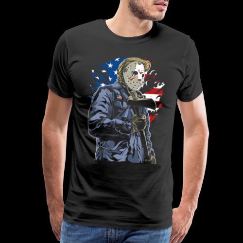 American Axe Killer - Men's Premium T-Shirt