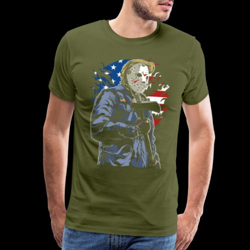 American Axe Killer - Men's Premium T-Shirt