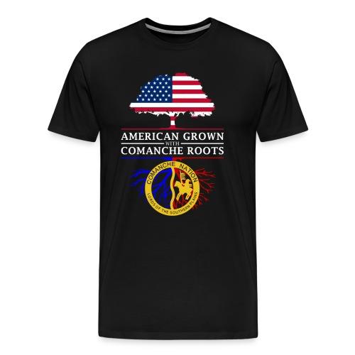 American Grown with Comanche Roots - Men's Premium T-Shirt