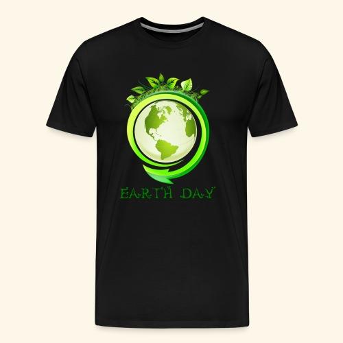 Happy Earth day - 2 - Men's Premium T-Shirt