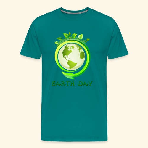 Happy Earth day - 2 - Men's Premium T-Shirt
