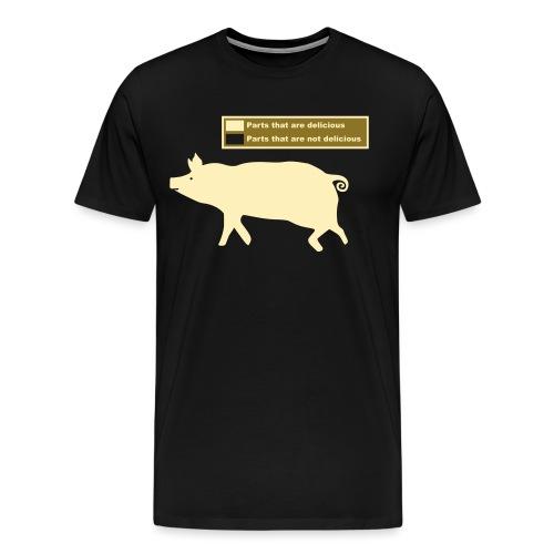 Bacon Pig Pork BBQ - Men's Premium T-Shirt