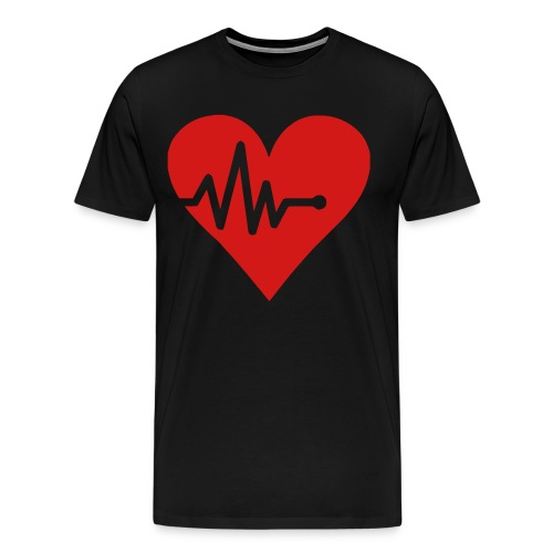 Heartbeat - Men's Premium T-Shirt