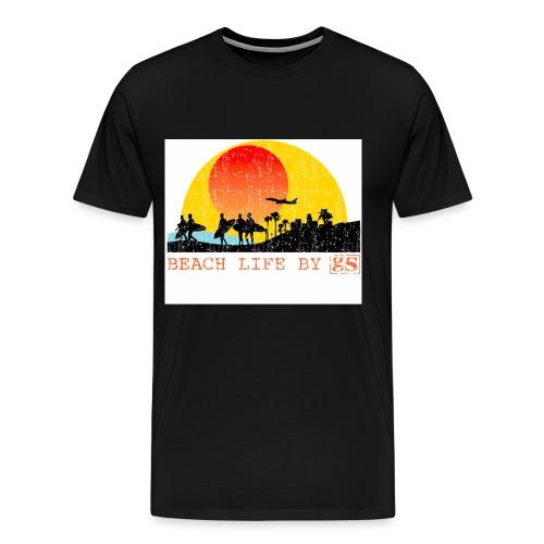 surf, surfers, surfing - Men's Premium T-Shirt