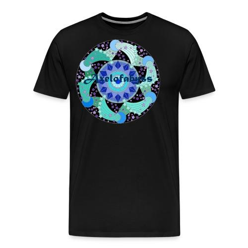 Axelofabyss The Ocean Moon - Men's Premium T-Shirt