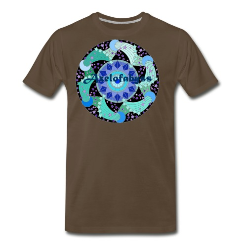 Axelofabyss The Ocean Moon - Men's Premium T-Shirt