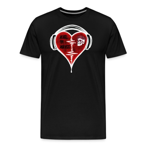 Axelofabyss Music in your heart - Men's Premium T-Shirt