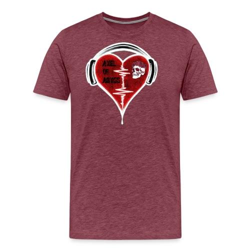 Axelofabyss Music in your heart - Men's Premium T-Shirt