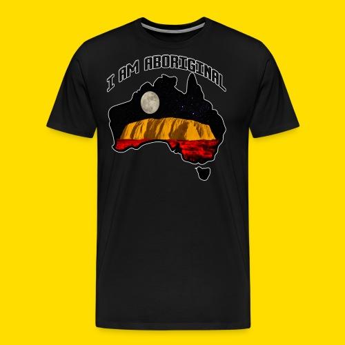 I am Aboriginal - Men's Premium T-Shirt