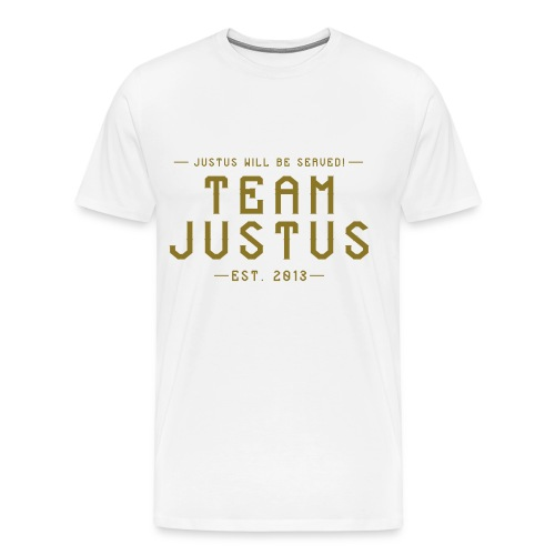 justus retro 1 - Men's Premium T-Shirt