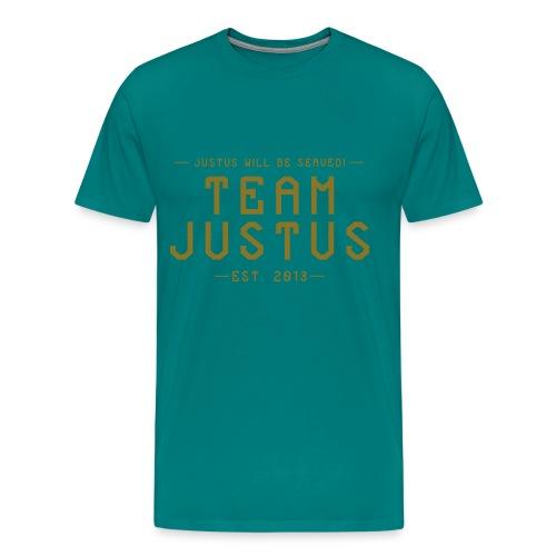 justus retro 1 - Men's Premium T-Shirt
