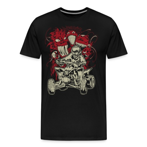 ATV Quad Monsters - Men's Premium T-Shirt