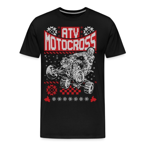 ATV Quad Motocross - Men's Premium T-Shirt