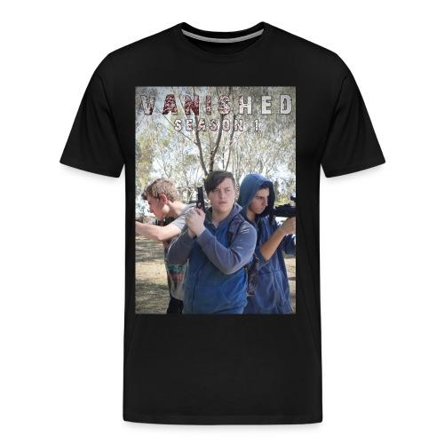 vanished season 1 poster - Men's Premium T-Shirt