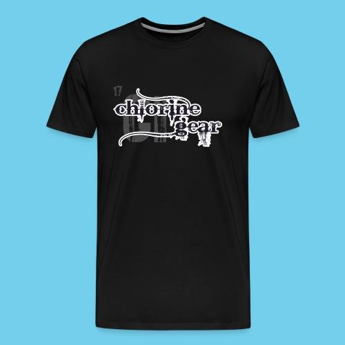 Chlorine Gear Textual B W - Men's Premium T-Shirt