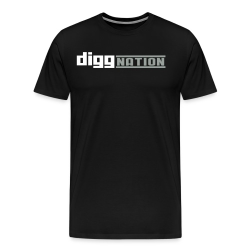 diggnation 2 color - Men's Premium T-Shirt