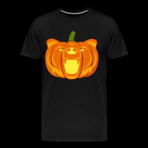Pumpkin Bear - Men's Premium T-Shirt
