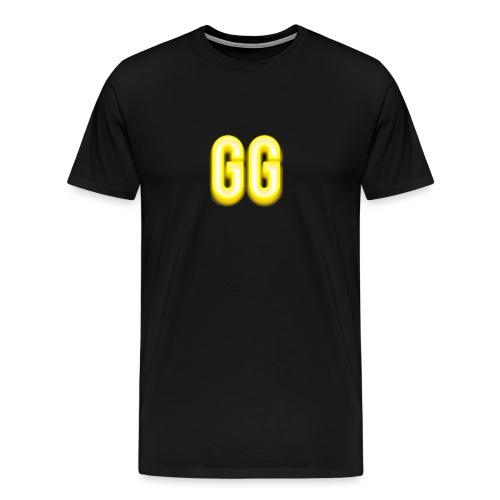 gg golden gamer logo - Men's Premium T-Shirt