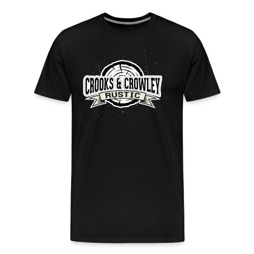 Crooks and Crowley Rustic - Men's Premium T-Shirt