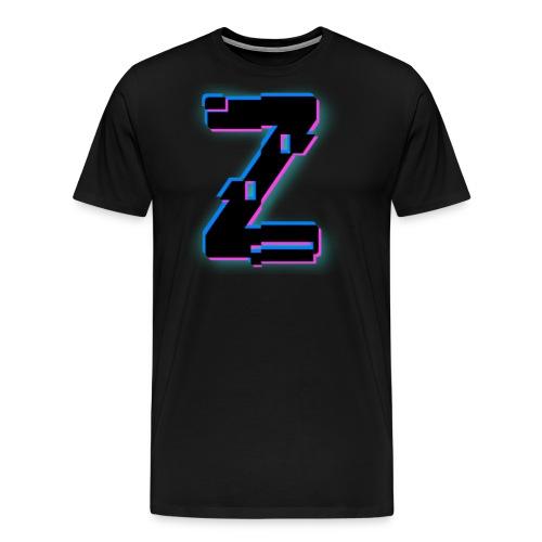 Glitchy Z - Men's Premium T-Shirt