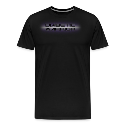 Diabetic Warrior In Space - Men's Premium T-Shirt