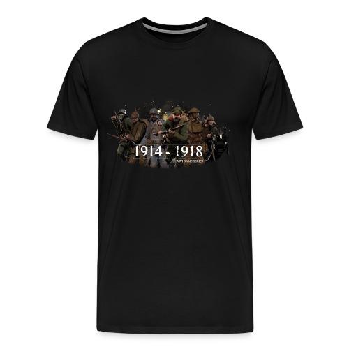 Classic WW1 Game Series - Men's Premium T-Shirt