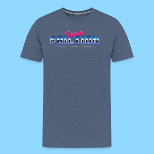 80s Team Friction - Men's Premium T-Shirt