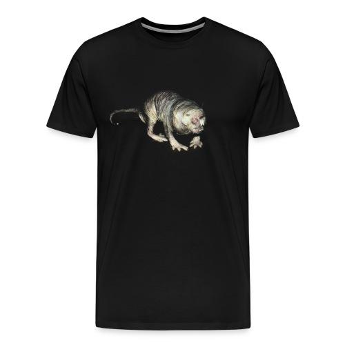 Le rat taupe nu - Men's Premium T-Shirt