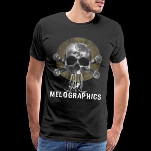 No Music Is Death - Men's Premium T-Shirt