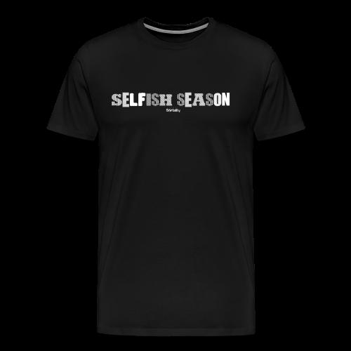 Selfish Seasion Classic Design - Men's Premium T-Shirt