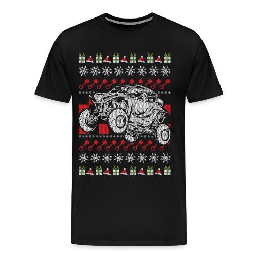UTV Racing Christmas - Men's Premium T-Shirt
