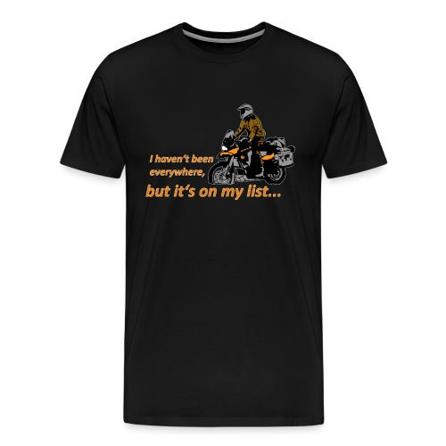 Dualsport it's on my list (for darkcolored shirts) - Men's Premium T-Shirt