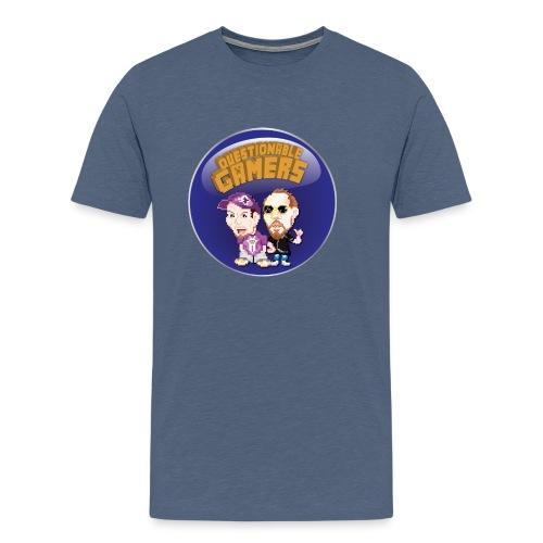 Questionable Gamers Shirt png - Men's Premium T-Shirt