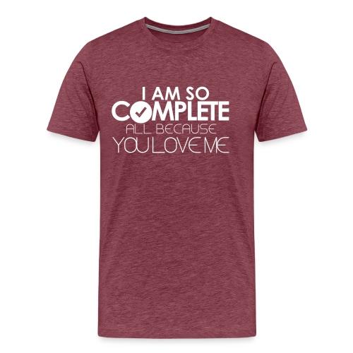 I AM SO COMPLETE - Men's Premium T-Shirt