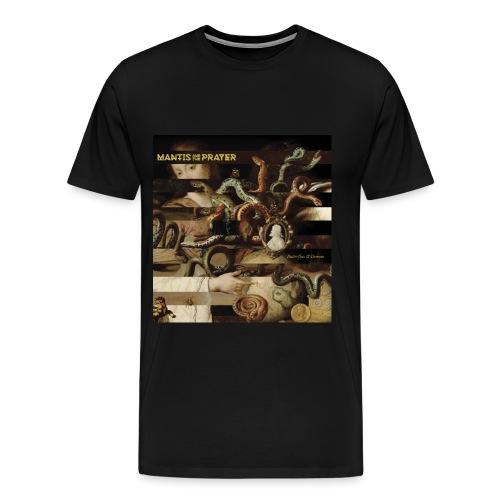 Mantis and the Prayer- Butterflies and Demons - Men's Premium T-Shirt