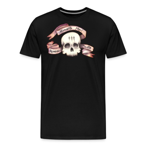 Momento Mori - Remember Death - Men's Premium T-Shirt