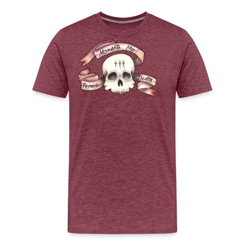 Momento Mori - Remember Death - Men's Premium T-Shirt