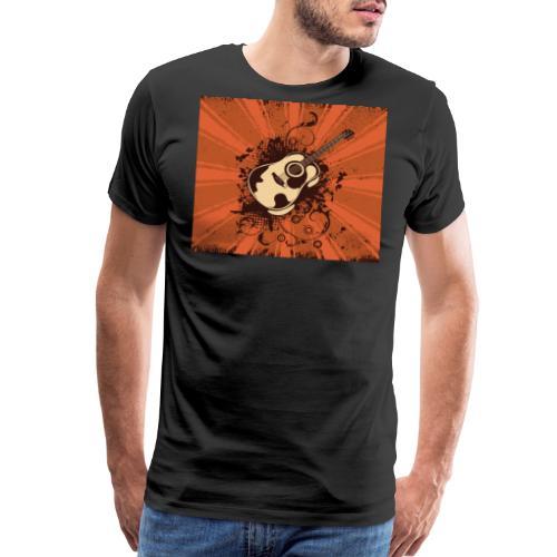 Funky Guitar - Men's Premium T-Shirt
